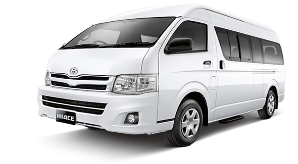 Van up to 7 pax
